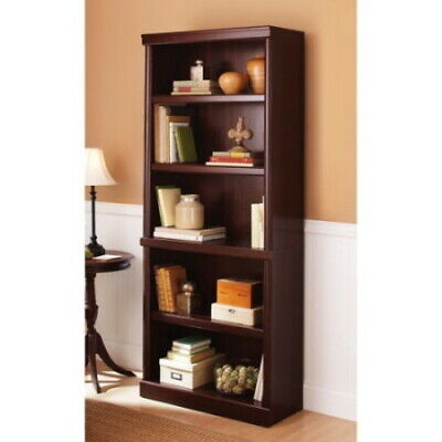 Better Homes and Gardens 5 Shelf Bookcase - Adjustable - 71 inch -