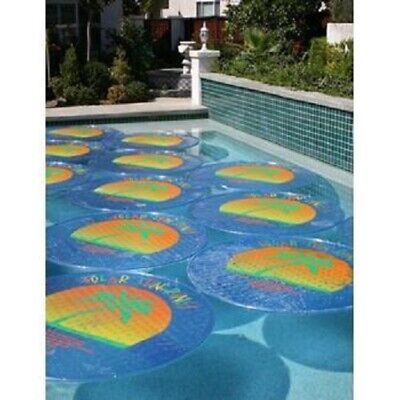 Solar Sun Rings Palm Tree Pattern Solar Pool Heating Cover - 2 Pack