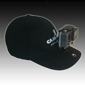 GoPro/Smart Phone Holding Sports Cap - For hands free video filming