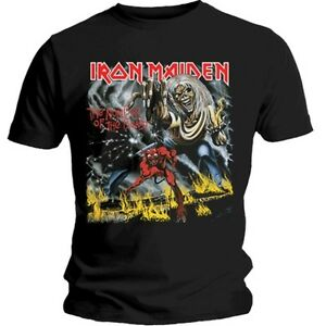 Official-IRON-MAIDEN-Number-Of-The-Beast-T-shirt-Black-Sizes-S-to-XXL-Eddie