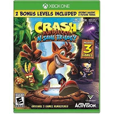 Crash Bandicoot N  Sane Trilogy   Xbox One Standard Edition