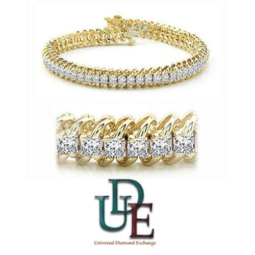 Princess Cut Diamond Tennis Bracelet Ebay