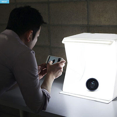 Foldio 2 Foldable All-in-one Studio Portable Light Box for Smartphone Photograph