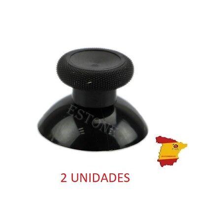 Controlador Thumbsticks Pulgar para XBOX ONE Negro (2 UNIDADES)