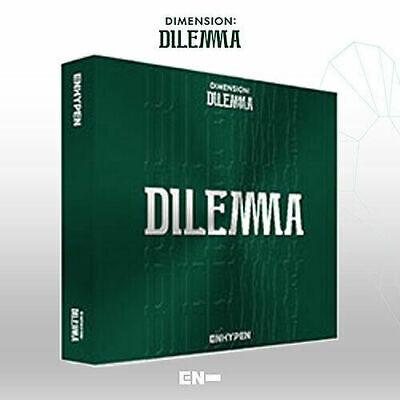ENHYPEN DIMENSION : DILEMMA 1st Album ESSENTIAL CD+Poster+Photo Book+2 Card+etc