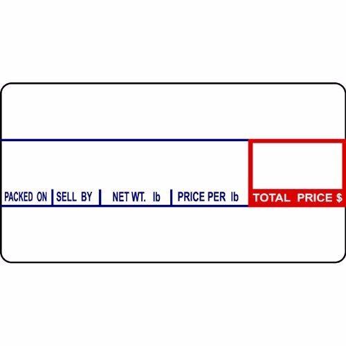 CAS LST-8000 Label 24 ROLLS