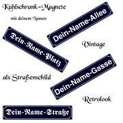 Schild mit Namen
