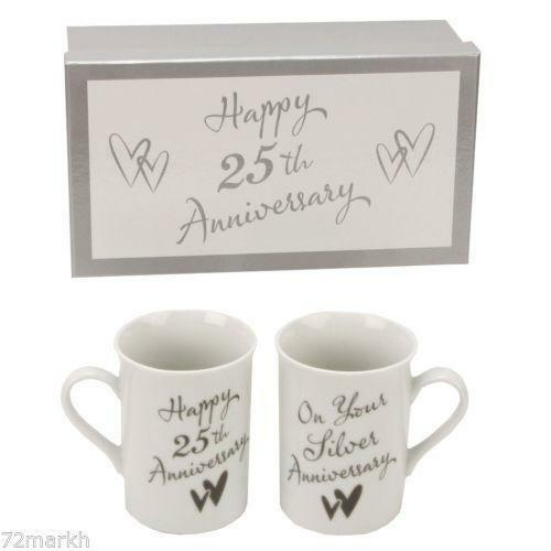Silver Wedding Anniversary Gifts Ebay