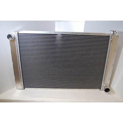 "GM Style 31""X19"" Universal Aluminum Racing Radiator Heavy Duty Extreme Cooling"