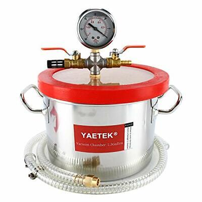 Vacuum Chamber For Degassing Resins Silicone And Epoxies 1.5 Gallon