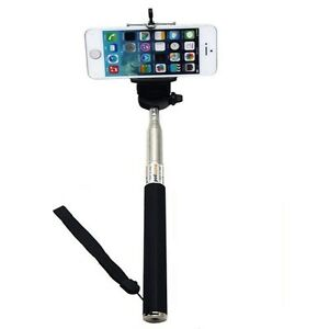 extendable handheld selfie stick monopod for iphone 4s 5s 6 6 plus samsung s6. Black Bedroom Furniture Sets. Home Design Ideas