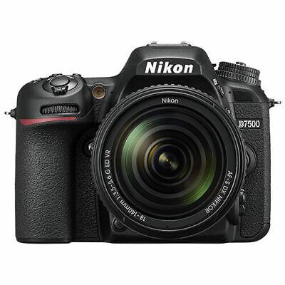 Nikon D7500 Digital SLR Camera 20.9 MP with 18-140mm VR AF-S DX Zoom Lens