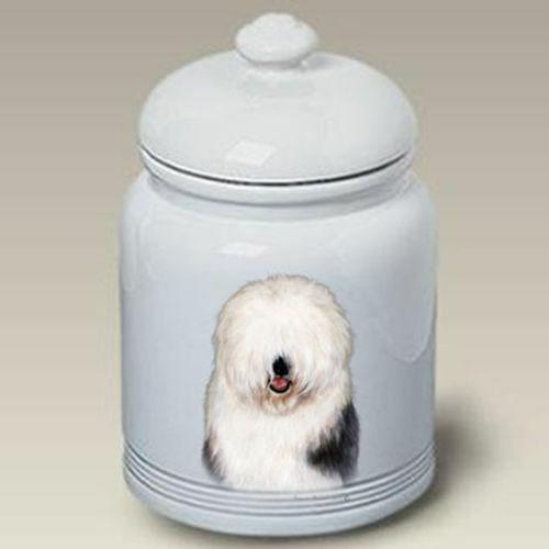 Old English Sheepdog Ceramic Treat Jar TB 34129