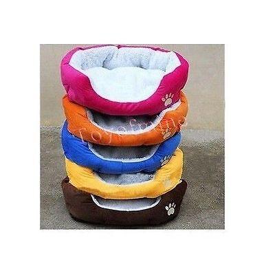 Pet Dog cucciolo del gatto morbido pile caldo Bed Casa Nido Pad Mat 5 colori