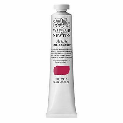 Winsor Newton Artists Oil Color Paint 200-ml Tube Permanent Alizarin Crimson - $85.51