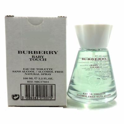 Burberry Baby Touch 3.4oz. Edt Spray Alcohol Free For Women NIB TSTER, No Cap