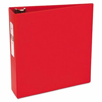 Avery Economy Round Ring Reference Binder 3 Capacity Red Ave03608