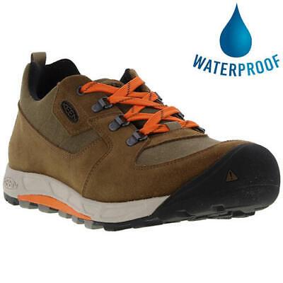 Keen Westward Mens Brown Water Resistant Walking Shoes Trainers Size 8-11