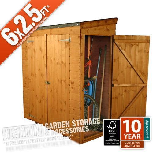 6x3 Wooden Shed Ebay