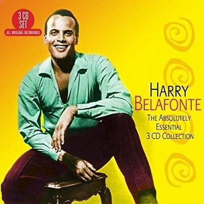 Harry Belafonte   Absolutely Essential 3Cd Collection  New Cd  Uk   Import