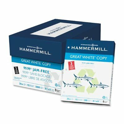Hammermill Punched Copy Paper - For Laser, Inkjet Print - Letter - 8.50