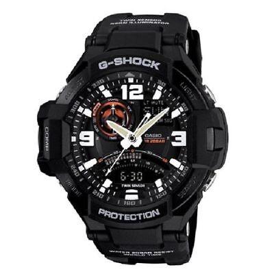 G-Shock GA-1000-1A Aviation Series Men's Twin Sensor  Luxury Watch - Black for sale  Miami