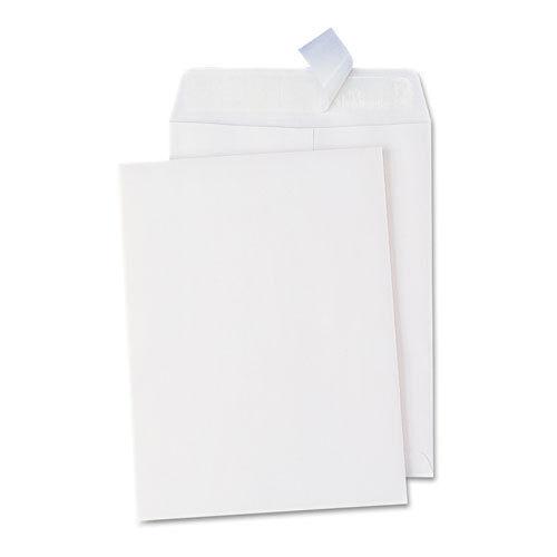 Universal Pull & Seal Catalog Envelope, 10 x 13, White, 100/Box, BX - UNV40101