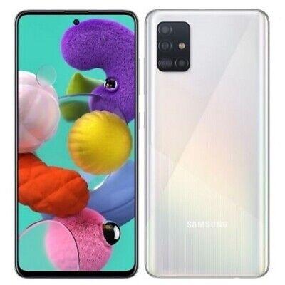 SAMSUNG GALAXY A51 128GB+4GBRAM 6.5''SMARTPHONE TELÉFONO MÓVIL LIBRE BLANCO A515
