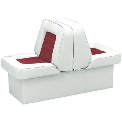 "Vinyl Chair Boat Seat Back to Back 10"" Base Marine Fishing Ski Pontoon Lounge"
