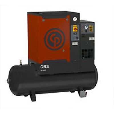 New Cp 7.5 Hptm Tank Mounted Rotary Comp. W Dryer Qrs 7.5 Hpd-1 Tm 230160