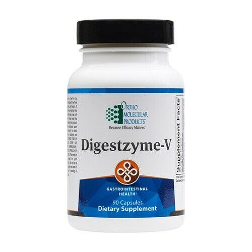 Ortho Molecular Products Digestzyme-V 90 Caps / Expires 07/21 / Fast shipping