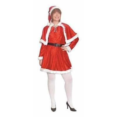 Miss Santa Suit Santa's Helper   Size 18 20 22  Ladies Christmas Fancy Dress