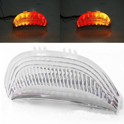 Red Lens LED Tail Light Integrated Turn Signals For Honda CBR600RR 2003-2006 CBR1000RR 2004-2007