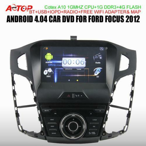 2012 ford focus radio ebay. Black Bedroom Furniture Sets. Home Design Ideas