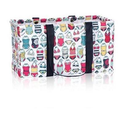 NEW Thirty One LARGE UTILITY tote laundry storage Bag 31 gift in Sweet Suits