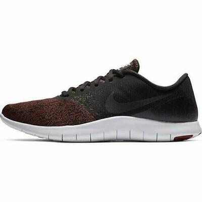 Nike Flex Contact 908983-013 Black Dark Red White Men's Running Shoes NEW!
