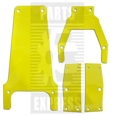 John Deere Seat Cushion Brackets Part Wn-seatbrkt On Tractor 2010 2510 2520 3010