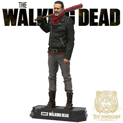 Negan   The Walking Dead Tv Mcfarlane Color Tops 7  Action Figure   In Stock