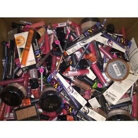 JOB LOT OF OVER 150 MAKE UP ITEMS- RRP £750- BULK- WHOLESALE STOCK