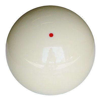 NEW Genuine Aramith Red Dot Cue Ball - 2 1/4