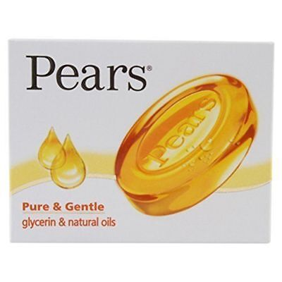 Pears soap Pure & Gentle glycerin & natural oils For younger looking skin 75Gm