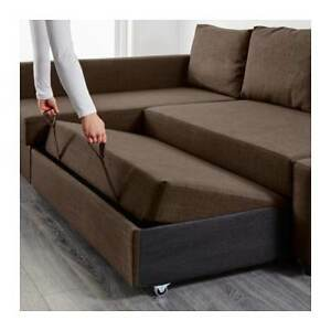 Ikea Friheten Corner Sofa-bed with Storage in good condition