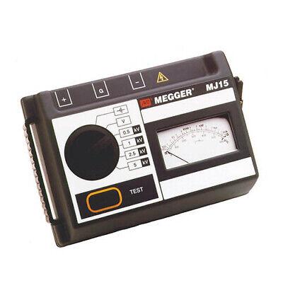 Megger Mj15 6410-920 Hand-crankbattery Analog 5kv Insulation Tester