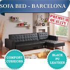 L shaped Sofa & Couch Suites with Click Clack