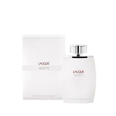 LALIQUE WHITE POUR HOMME 125ML EAU DE TOILETTE SPRAY NEW & SEALED