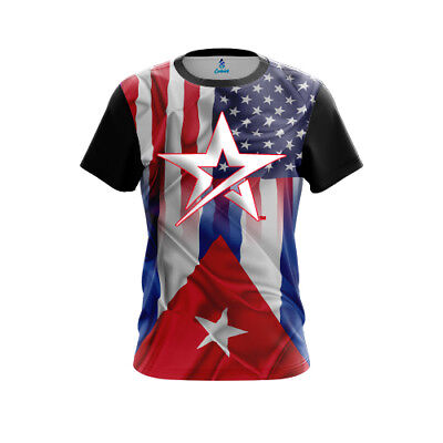 Roto Grip USA Cuban Flag CoolWick Bowling Jersey