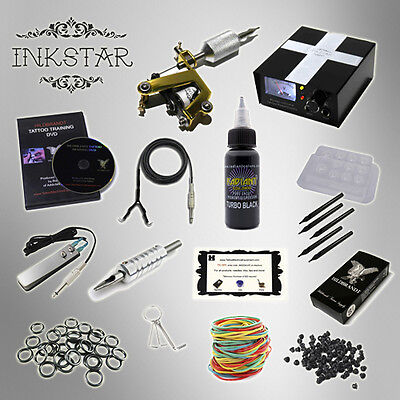 INKSTAR 1 Machine Tattoo Kit Machines Guns Equipment Ink Gun Set Tatoo TKI1 USA on Rummage