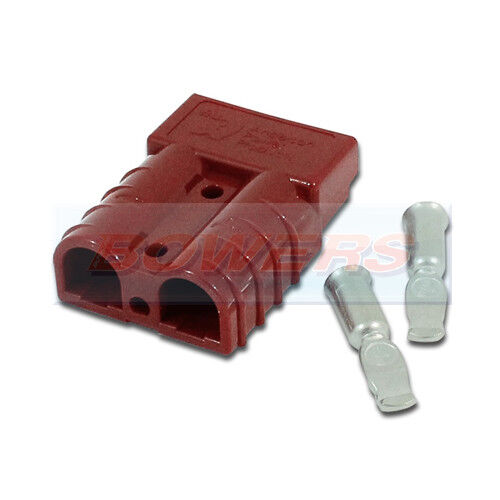 GREY ANDERSON PLUG SB175 HOUSING CONTACTS MEDIUM CABLE HIGH CURRENT CONNECTOR