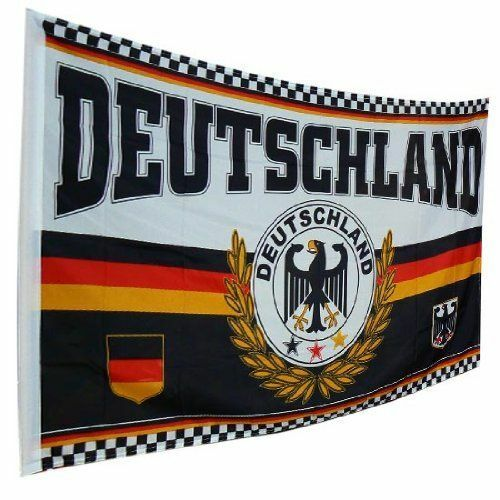 5ft x 3ft Eagle Germany Country Flags Football Fan Flag German Support