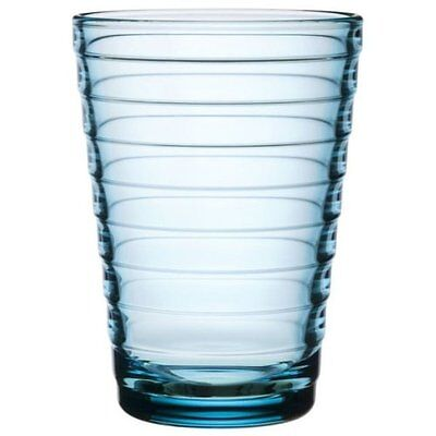 Iittala Aino Aalto 11-3/4-Ounce Light Blue Tumbler, Set of 2, New, Free Shipping